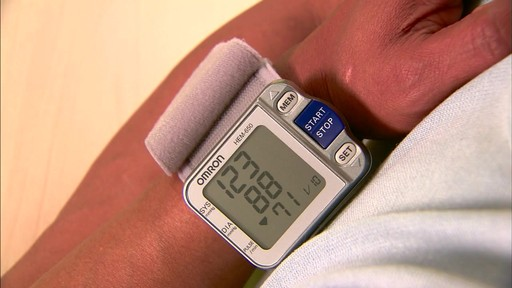Omron 3 Series Wrist Blood Pressure Monitor, Model BP629 | drugstore.com - image 8 from the video