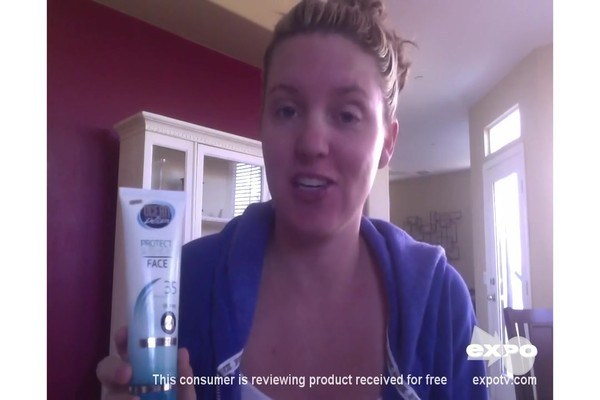 Ocean Potion Suncare Protect & Renew Face Anti-Aging Sheer Sunscreen Lotion, SPF 35 review | drugstore.com - image 1 from the video
