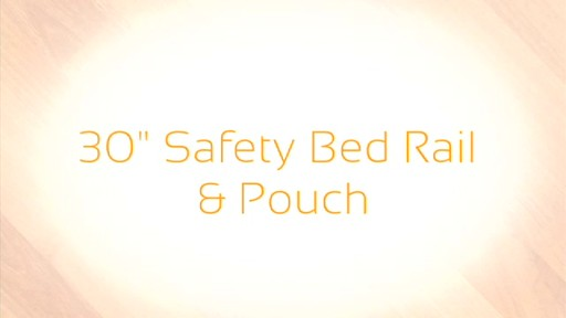 Stander Safety Bed Rail & Padded Pouch, 30 inch product | drugstore.com - image 7 from the video
