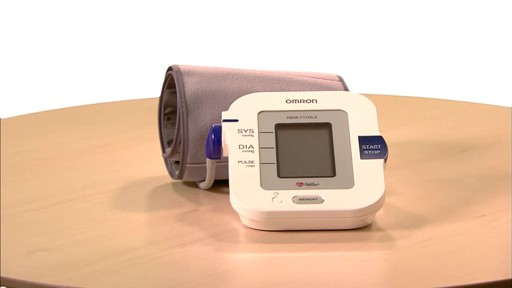 Omron 7 Series Upper Arm Blood Pressure Monitor, Model BP760 | drugstore.com - image 1 from the video