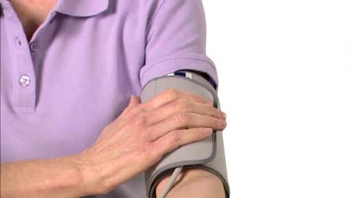 Omron 7 Series Upper Arm Blood Pressure Monitor, Model BP760 | drugstore.com - image 6 from the video