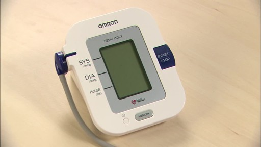 Omron 7 Series Upper Arm Blood Pressure Monitor, Model BP760 | drugstore.com - image 7 from the video