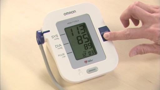 Omron 7 Series Upper Arm Blood Pressure Monitor, Model BP760 | drugstore.com - image 9 from the video