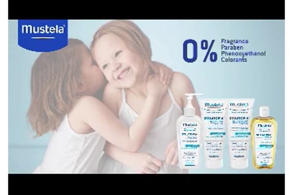 Mustela Stelatopia skin care products | drugstore.com - image 10 from the video
