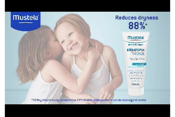 Mustela Stelatopia skin care products | drugstore.com - image 8 from the video