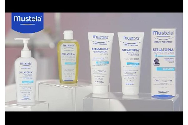 Mustela Stelatopia skin care products | drugstore.com - image 9 from the video