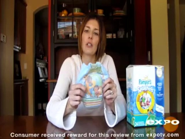 Pampers Splashers Swimpants review | drugstore.com - image 2 from the video