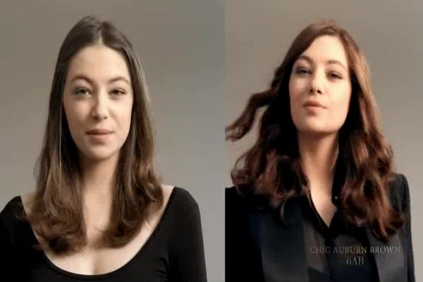 L'Oreal Paris Preference Fade-Defying Color   Shine System, 6AB Chic Auburn Brown | drugstore.com - image 10 from the video