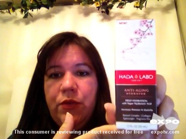 Hada Labo Tokyo Anti-Aging Hydrator review | drugstore.com - image 8 from the video