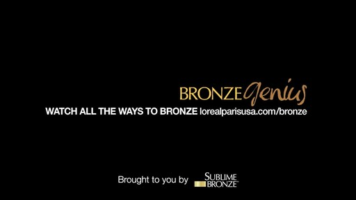 L'Oreal Paris Sublime Bronze Tinted Self-Tanning Mousse, Medium Natural Tan product | drugstore.com - image 10 from the video