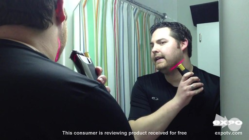Philips Norelco BeardTrimmer 9100 Model BT9285/41 review | drugstore.com - image 3 from the video