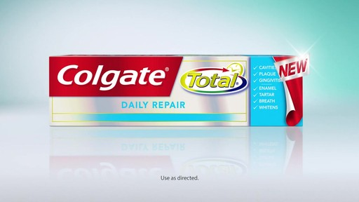 Colgate Total Total Daily Repair Toothpaste | drugstore.com - image 10 from the video