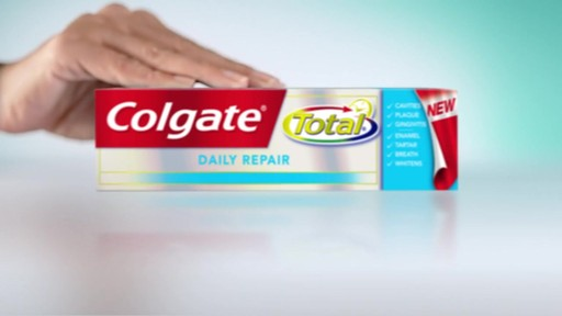 Colgate Total Total Daily Repair Toothpaste | drugstore.com - image 4 from the video
