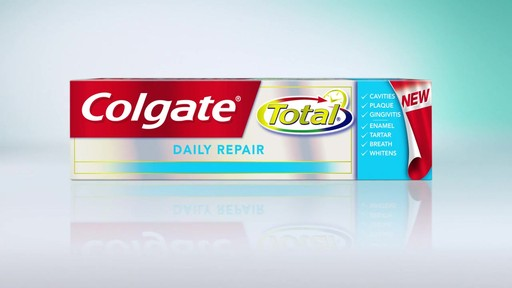Colgate Total Total Daily Repair Toothpaste | drugstore.com - image 5 from the video