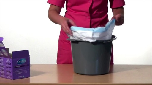 CLEANIS CareBag Commode Liner with Super Absorbent Pad product | drugstore.com - image 7 from the video