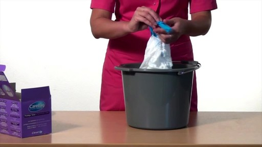 CLEANIS CareBag Commode Liner with Super Absorbent Pad product | drugstore.com - image 8 from the video