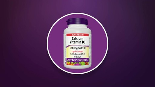 Webber Naturals Calcium Softgels product | drugstore.com - image 10 from the video