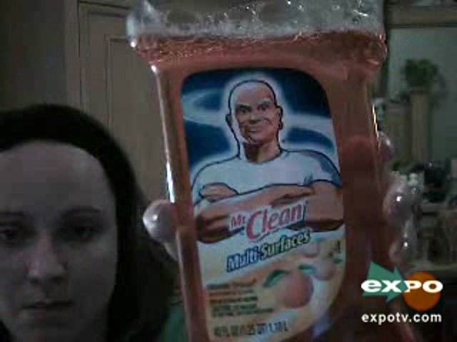 Mr. Clean Multi-Purpose Cleaner, Ultimate Orange - image 10 from the video