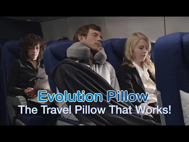 Cabeau Travel Evolution Pillow product | drugstore.com - image 2 from the video