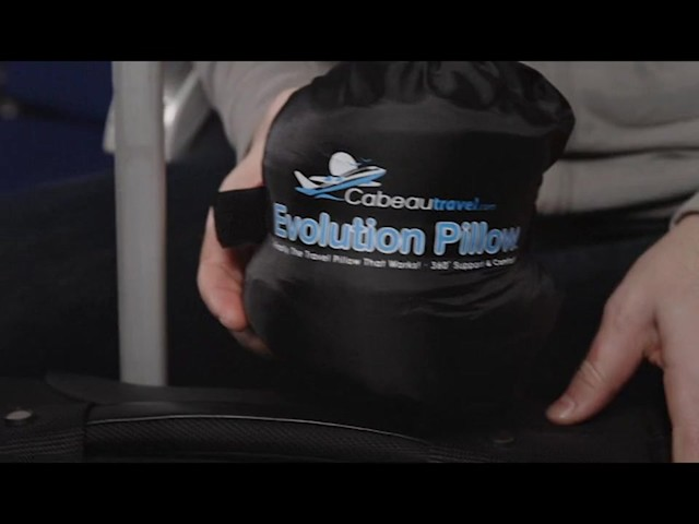 Cabeau Travel Evolution Pillow product | drugstore.com - image 8 from the video