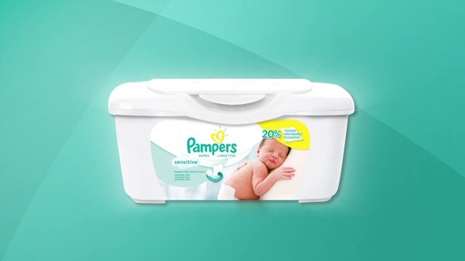 Pampers Sensitive Baby Wipes | drugstore.com - image 2 from the video