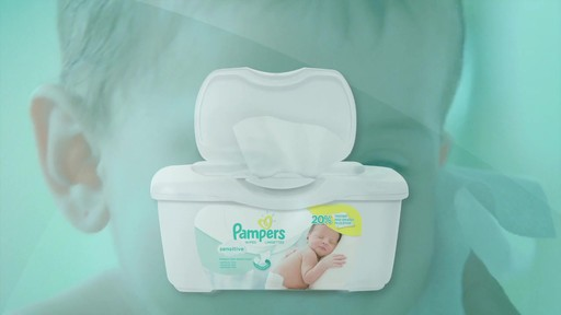 Pampers Sensitive Baby Wipes | drugstore.com - image 9 from the video