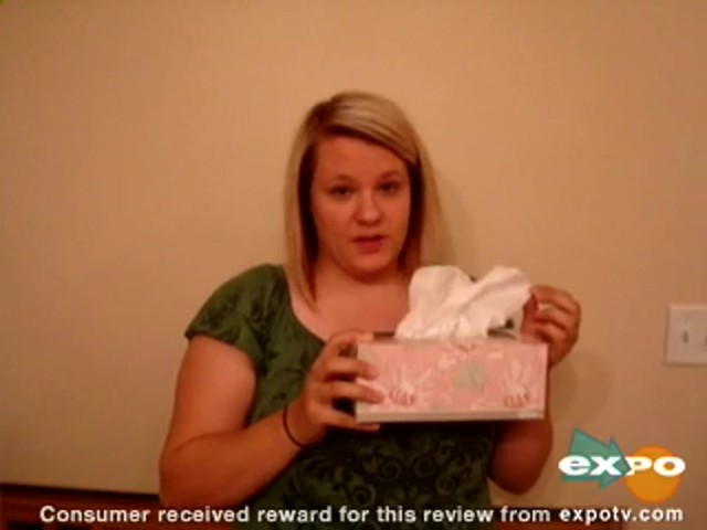 Kleenex Lotion Facial Tissue with Aloe & Vitamin E review | drugstore.com - image 10 from the video