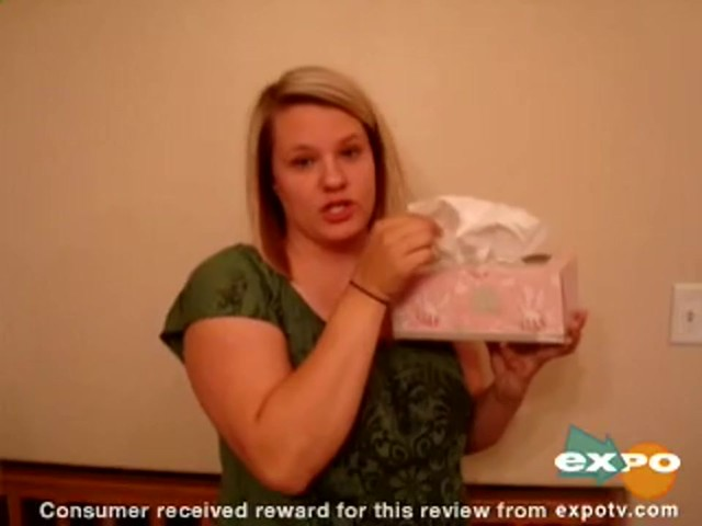 Kleenex Lotion Facial Tissue with Aloe & Vitamin E review | drugstore.com - image 2 from the video