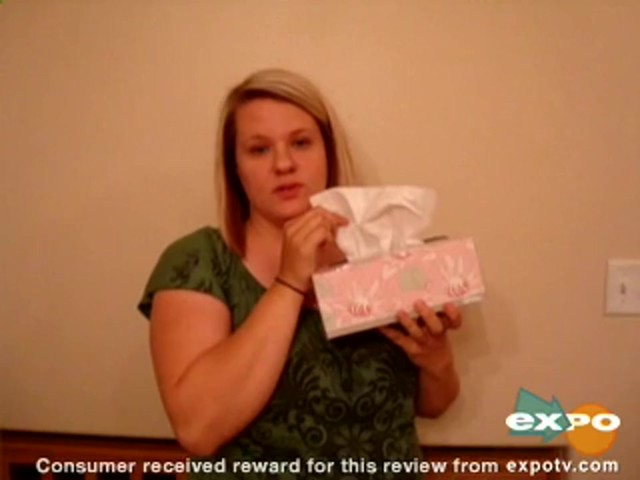 Kleenex Lotion Facial Tissue with Aloe & Vitamin E review | drugstore.com - image 3 from the video