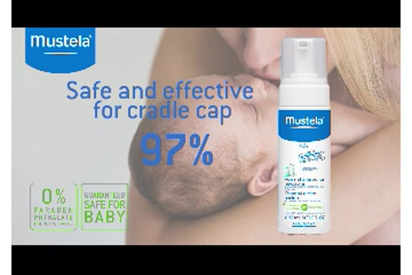 Mustela Foam Shampoo for Newborns product | drugstore.com - image 9 from the video