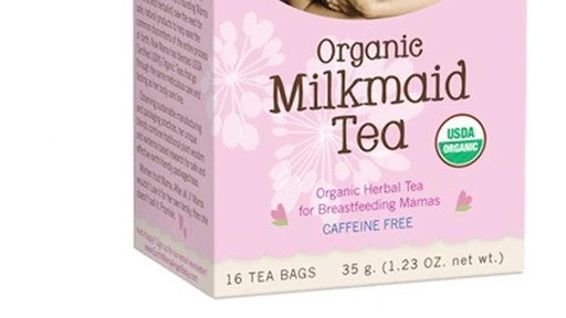 Earth Mama Angel Baby Organic Herbal Tea for Breastfeeding Mamas, Milkmaid product | drugstore.com - image 5 from the video