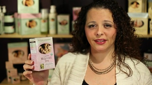 Earth Mama Angel Baby Organic Herbal Tea for Breastfeeding Mamas, Milkmaid product | drugstore.com - image 9 from the video