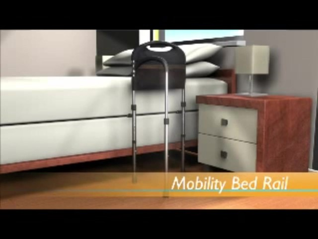 Stander Mobility Bed Rail product | drugstore.com - image 4 from the video