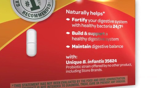 Align Digestive Care Probiotic Supplement product | drugstore.com - image 9 from the video