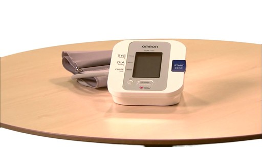 Omron 5 Series Upper Arm Blood Pressure Monitor, Model BP742 | drugstore.com - image 1 from the video