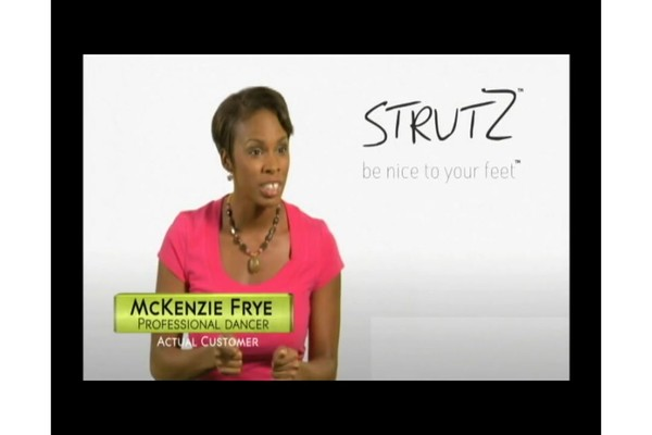 STRUTZ Cushioned Arch Supports product | drugstore.com - image 3 from the video