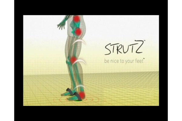 STRUTZ Cushioned Arch Supports product | drugstore.com - image 4 from the video