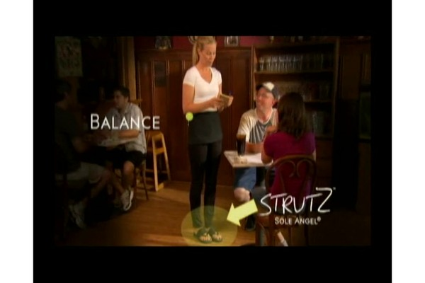 STRUTZ Cushioned Arch Supports product | drugstore.com - image 5 from the video