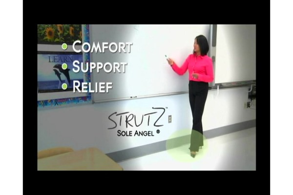 STRUTZ Cushioned Arch Supports product | drugstore.com - image 6 from the video