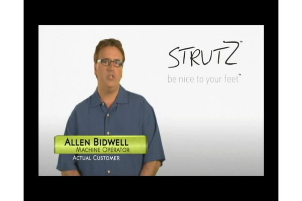 STRUTZ Cushioned Arch Supports product | drugstore.com - image 9 from the video