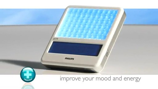 Philips Light Therapy goLITE BLU Plus Energy Light | drugstore.com - image 9 from the video