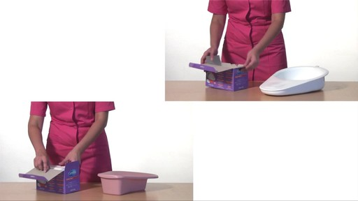CLEANIS CareBag Bedpan Liner with Super Absorbent Pad product | drugstore.com - image 2 from the video