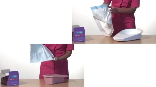 CLEANIS CareBag Bedpan Liner with Super Absorbent Pad product | drugstore.com - image 3 from the video