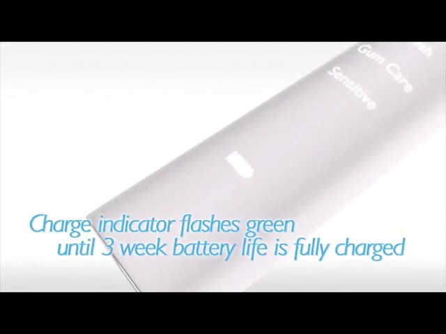 Philips Sonicare DiamondClean White Rechargeable Electric Toothbrush, HX9332 | drugstore.com - image 4 from the video
