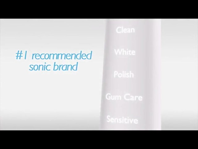 Philips Sonicare DiamondClean White Rechargeable Electric Toothbrush, HX9332 | drugstore.com - image 6 from the video