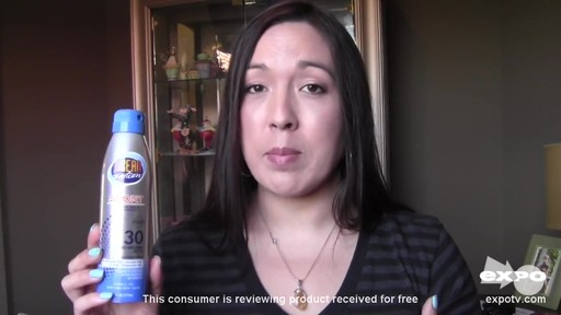 Ocean Potion Suncare Sport Broad Spectrum SPF 30 Sunscreen Spray review | drugstore.com - image 6 from the video