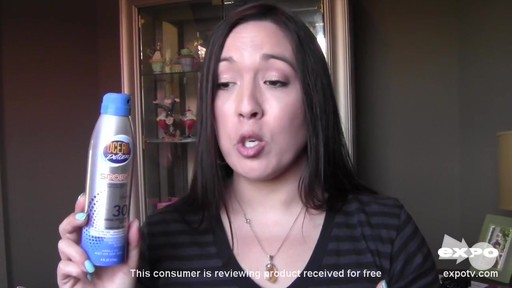 Ocean Potion Suncare Sport Broad Spectrum SPF 30 Sunscreen Spray review | drugstore.com - image 7 from the video