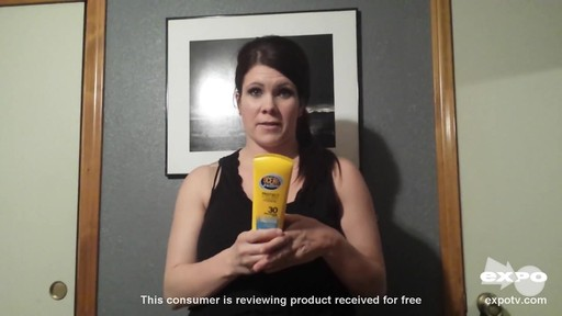 Ocean Potion Suncare Protect & Nourish Sunscreen, SPF 30 review | drugstore.com - image 9 from the video