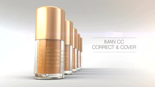 IMAN CC Correct & Cover Powder to Creme Concealer product | drugstore.com - image 3 from the video