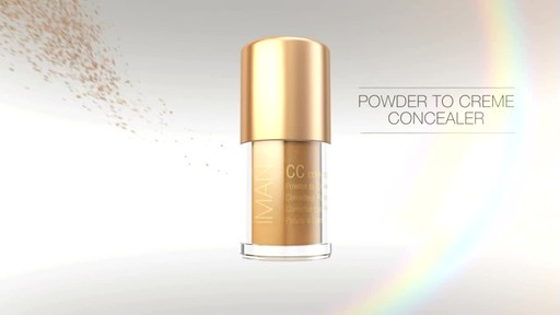 IMAN CC Correct & Cover Powder to Creme Concealer product | drugstore.com - image 5 from the video